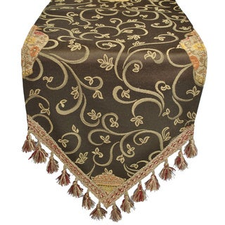 Austin Horn Classics Golden Vase Luxury Table Runner