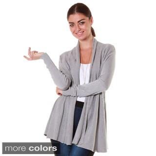 Hadari Women's Contemporary Collar Cardigan