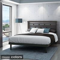 Clay Alder Home Kane Queen Size Metal Platform Bed 60-inch