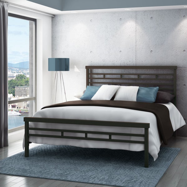 Carbon Loft Olga Classic Solid Full-size 54-inch Metal Bed