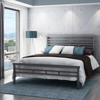 Carbon Loft Olga 60-inch Highway Queen Size Metal Bed