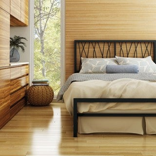 Amisco Ivy Full Size Metal Headboard & Footboard 54-inch