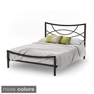 Amisco Equinox Queen Size Metal Bed 60-inch
