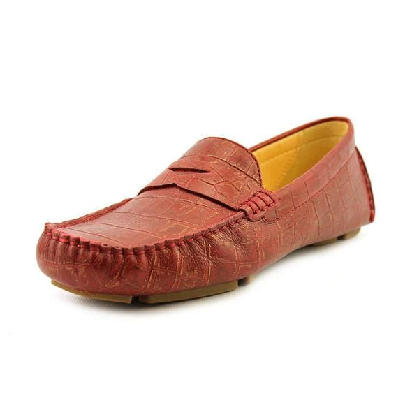 cf1df545bf0 Shop Cole Haan Women s  Trillby Driver  Leather Casual Shoes - Free ...