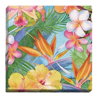 Portfolio Canvas Decor 'Tropical' Large Framed Printed Canvas Wall Art
