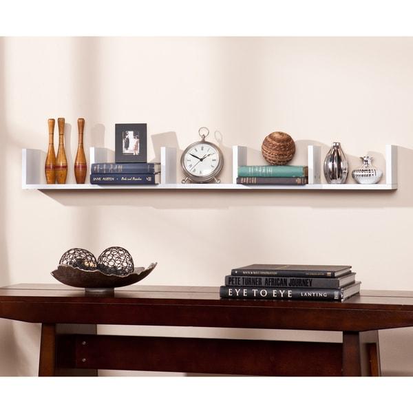 Porch & Den Hi-Line White Shelf