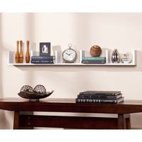 Clay Alder Home Hi-Line White Shelf