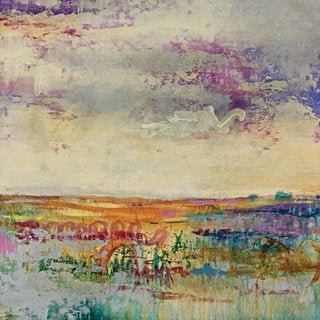 Portfolio Canvas Decor 'Wildflower Sunrise I' Large Framed Printed Canvas Wall Art