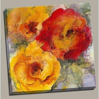 Portfolio Canvas Decor 'Orange Blossom II' Large Framed Printed Canvas Wall Art