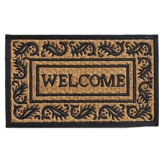 Border Welcome Coir and Rubber Doormat (1'6 x 2'6)