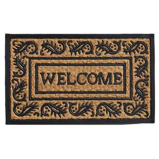 Border Welcome Coir and Rubber Doormat (1'6 x 2'6)
