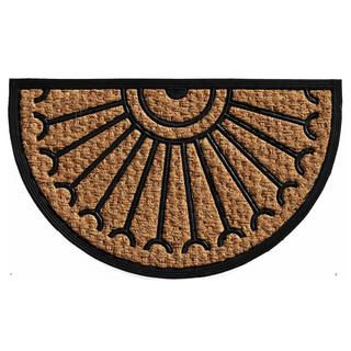 Celeste Coir and Rubber Doormat (1'6 x 2'6)