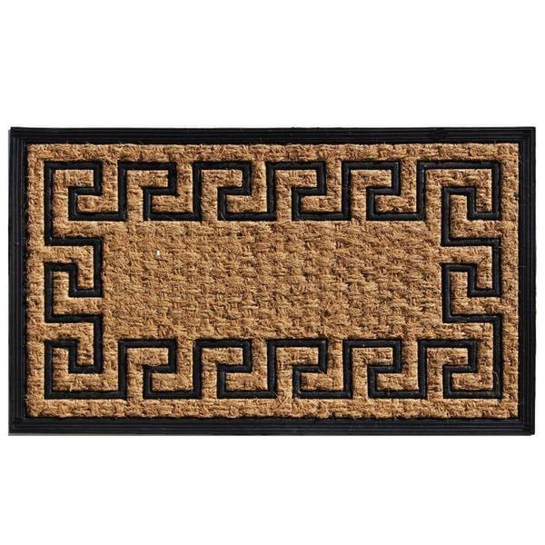 Empress Coir and Rubber Doormat (1'6 x 2'6)
