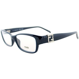 Fendi Women's Navy Rectangle Eyeglasses