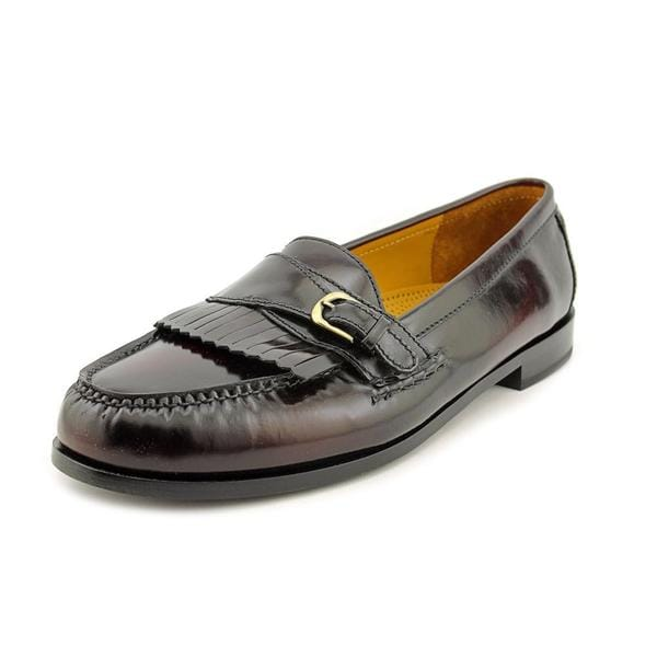 cole haan s pinch buckle leather dress shoes size