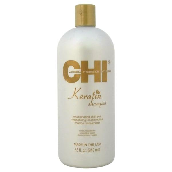 Chi Keratin Reconstructing 32 Ounce Shampoo Free