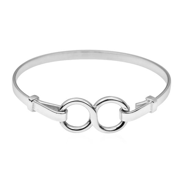Shop Handmade Unique Infinity Symbol 925 Sterling Silver Bracelet
