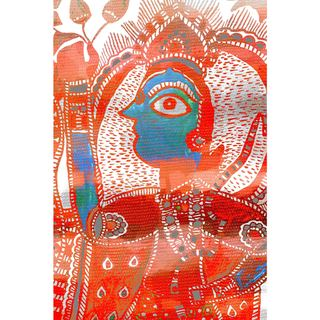 Marmont Hill - Handmade Watching You Canvas Art