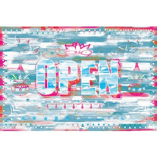 Marmont Hill Art Collective 'OPEN' Canvas Art