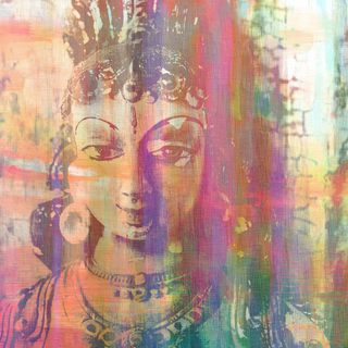 Marmont Hill Art Collective 'Limbdi' Canvas Art