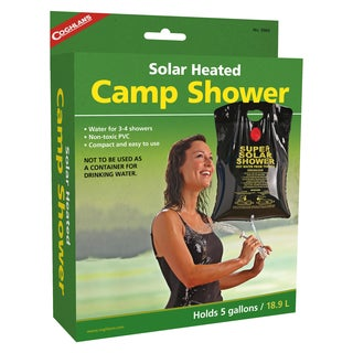 Coghlan's Solar Heated Camp Shower