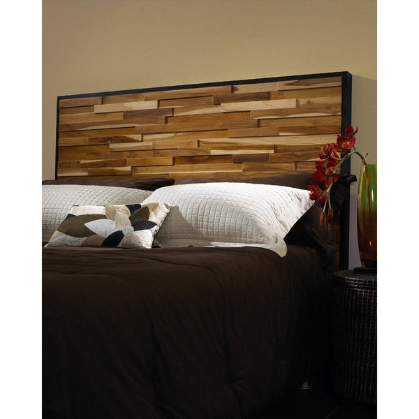 Reclaimed Wood Headboard - Reclaimed Wood Headboard - Free Shipping Today - Overstock.com