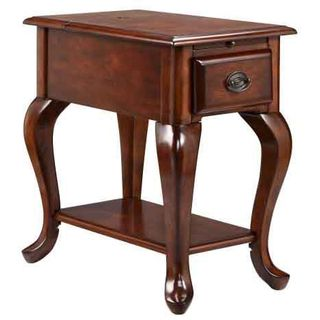 Shenandoah Cordovan Chairsider Utility Table