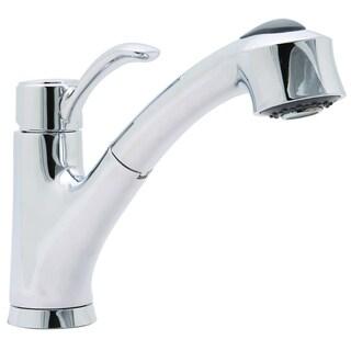 Premier Sanibel Lead-free Single-handle Pull-out Chrome Kitchen Faucet