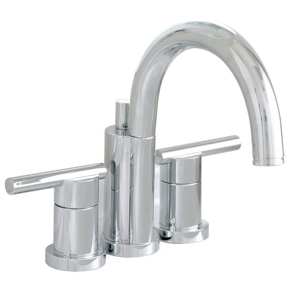 Shop Premier Essen Lead Free Mini Widespread Double Handle Chrome Bathroom Lavatory Faucet
