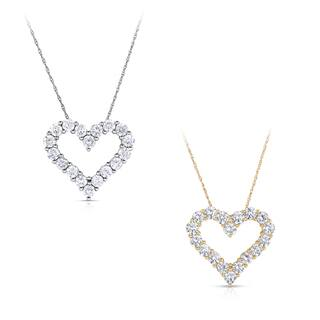 Eloquence 14k Gold 2ct TDW Diamond Heart Pendant|https://ak1.ostkcdn.com/images/products/9588703/P16773238.jpg?impolicy=medium