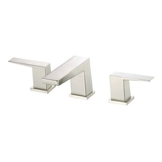 Danze Widespread Mid-Town Brushed Nickel Faucet with Touch-down Drain
