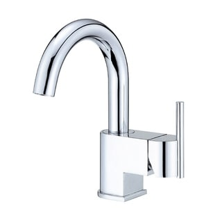Danze Centerset Como Faucet with Touch-down Drain Polished Chrome