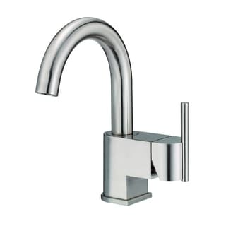 Danze Centerset Como Brushed Nickel Faucet with Touch-down Drain