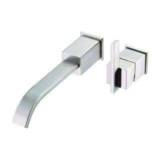 Danze Trim Wall-mount Sirius Brushed Nickel Faucet with Touch-down Drain