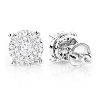 Luxurman 14k Gold 3/5ct TDW Round Diamond Stud Earrings (G-H, VS1-VS2)|https://ak1.ostkcdn.com/images/products/9590358/P16775228.jpg?_ostk_perf_=percv&impolicy=medium