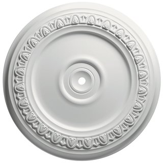 Focal Point 24-inch Egg and Dart Ceiling Medallion
