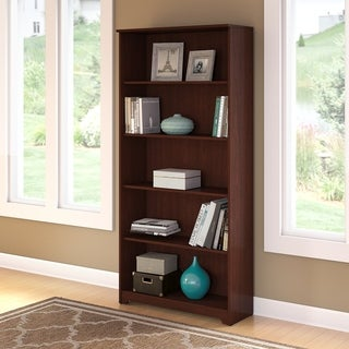 Bush Furniture Cabot 5-shelf Bookcase