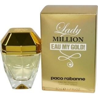 Paco Rabanne Lady Million Eau My Gold! Women's 1.7-ounce Eau de Toilette Spray