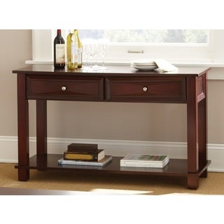 Montoya Merlot Finished Sofa Table by Greyson Living