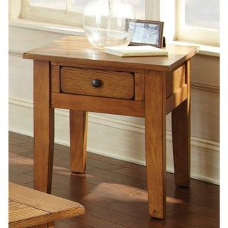 Link to Livingston Craftsmen End Table by Greyson Living Similar Items in Living Room Furniture