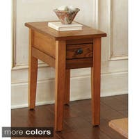 Livingston Craftsmen Chairside Table by Greyson Living