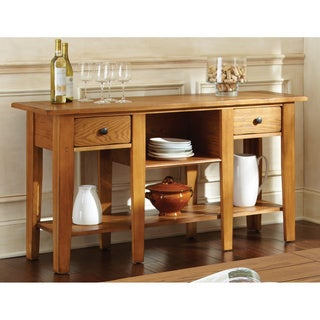 Link to Livingston Display 2-drawer Sofa Table by Greyson Living Similar Items in Living Room Furniture