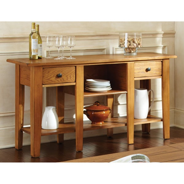 Livingston Display 2-drawer Sofa Table by Greyson Living. Opens flyout.