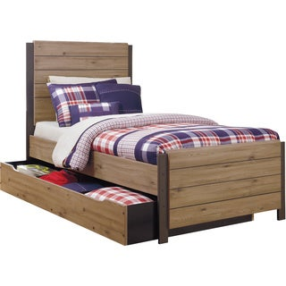 Signature Design by Ashley Dexifield Beige Brown Youth Trundle Bed