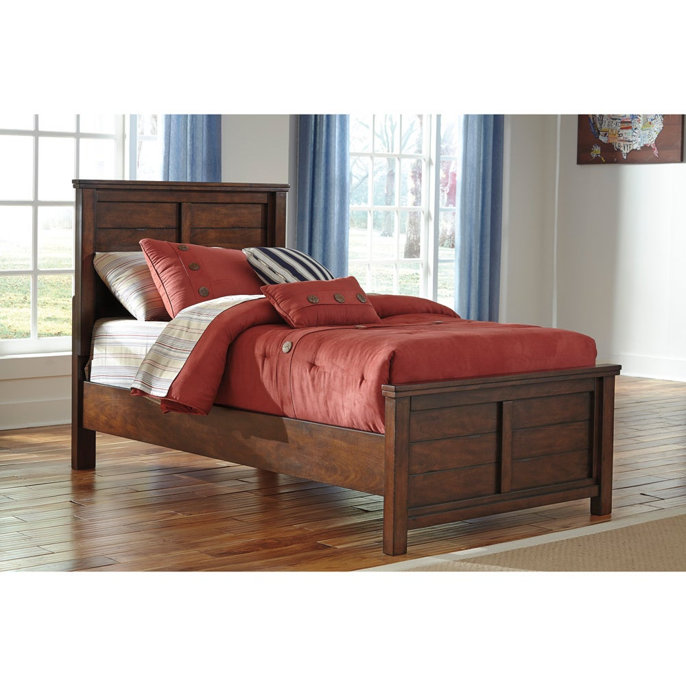 Ashley Ladiville Rustic Brown Youth Bed (Twin Size Bed)