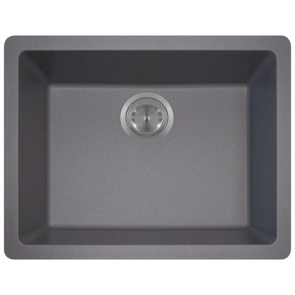 MR Direct 808 TruGranite Single Bowl Kitchen Sink - Free Shipping ...