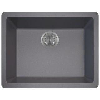 MR Direct 808 TruGranite Single Bowl Kitchen Sink
