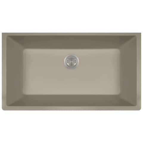 848 Composite Granite Single Bowl Kitchen Sink