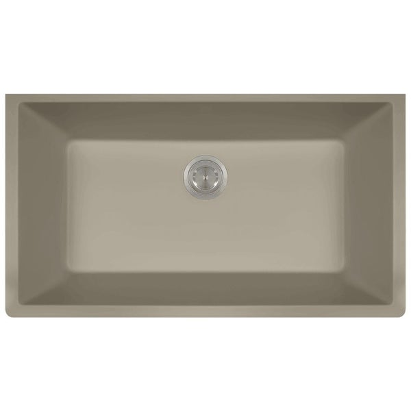 c96e0ab5abf Shop 848 Composite Granite Single Bowl Kitchen Sink - Free Shipping ...