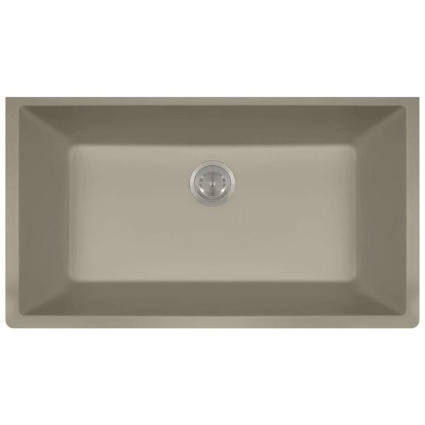 MR Direct 848 TruGranite Single Bowl Kitchen Sink - Free Shipping ...